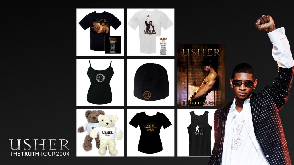 Usher Official Concert Tour Product