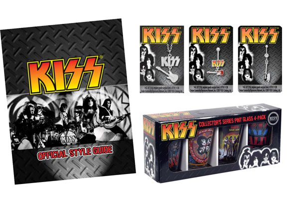KISS classic rock band branding styleguide packaging design