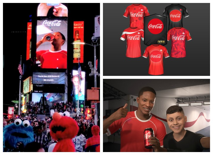 Coke FIFA Collage