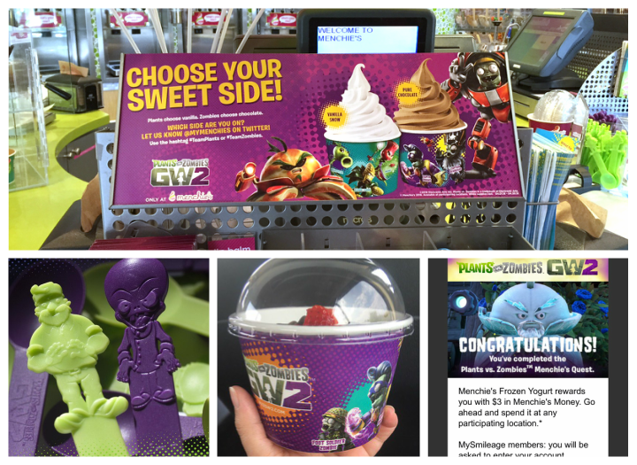 Menchies PvZ Collage