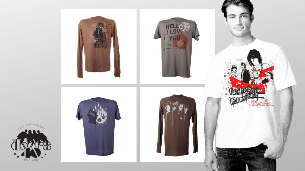 The Doors - Premium mens fashion rock & roll apparel