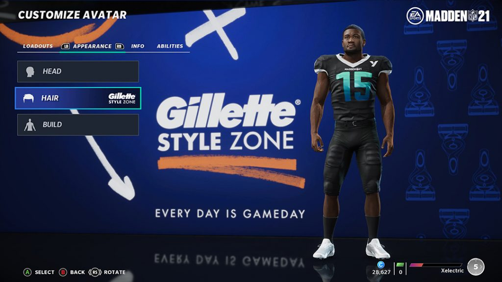 Madden NFL 21 Console - Gillette Style Zone Entry