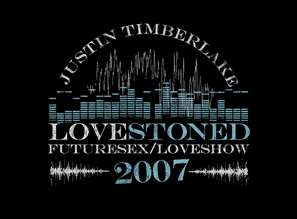 Justin Timberlake Official Concert Tour Product