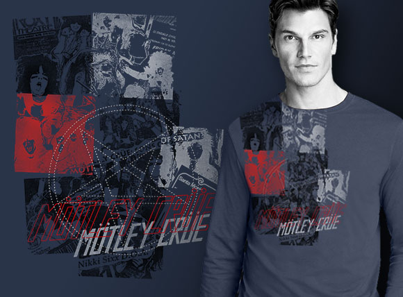 Mötley Crüe - Premium rock & roll fashion apparel